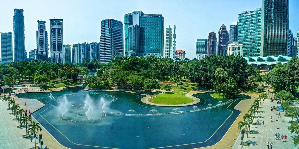 Taman Kuala Lumpur City Centre - tour malaysia