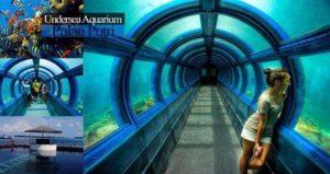 Akurium bawah laut pulau putri