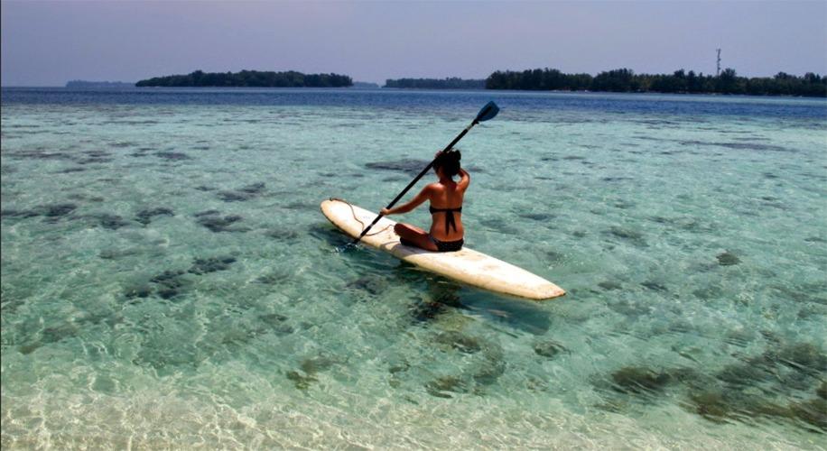 water sport pulau macan