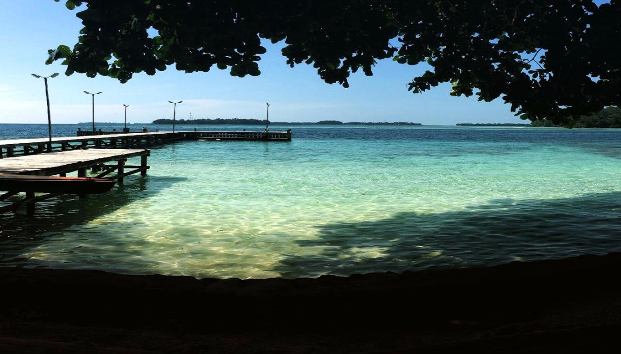 dermaga pulau genteng kecil kepulauan seribu