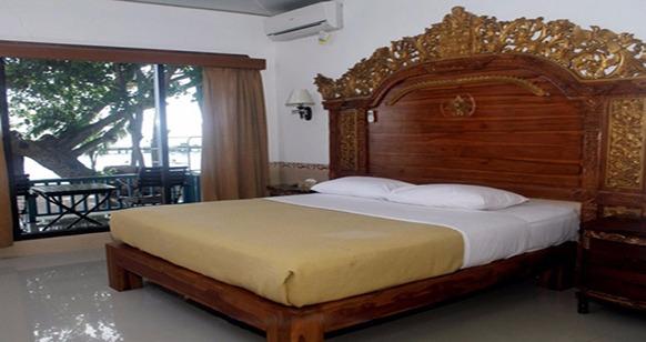kamar tipe Double Bed Bed pulau putri kepulauan seribu