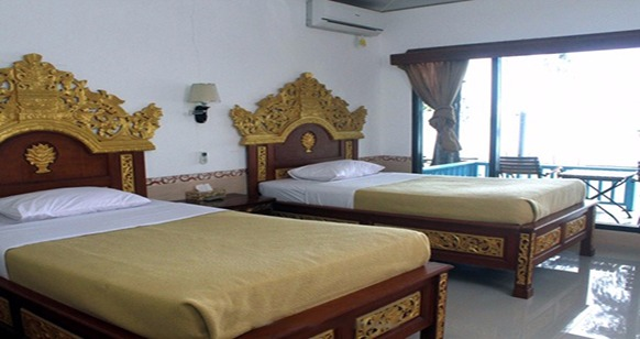 kamar tipe Twin Bed