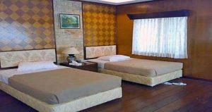 kamar tipe Twin Bed pulau putri
