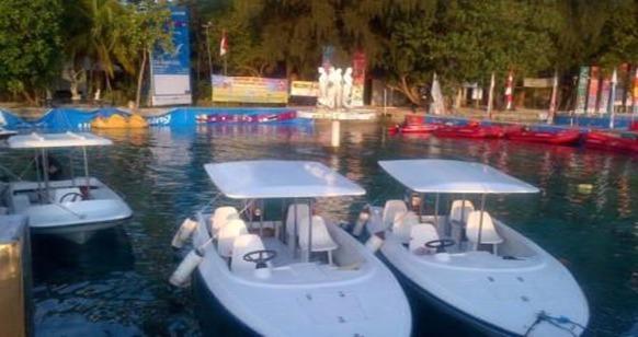kapal boat mini pulau putri