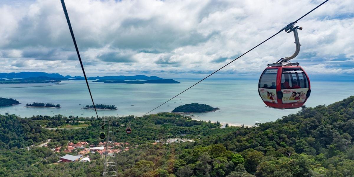 langkawi cable car - tour malaysia