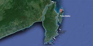 lokasi Pulau Sebuku